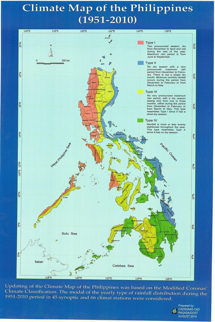 climate map of the philippines