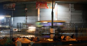 Homeless of Manila during the COVID-19 crisis
