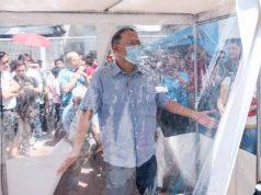 marikina city disinfection tents