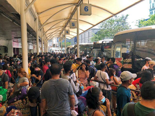 Metro Manila lockdown