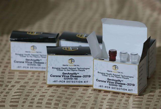 Philippines testing kits
