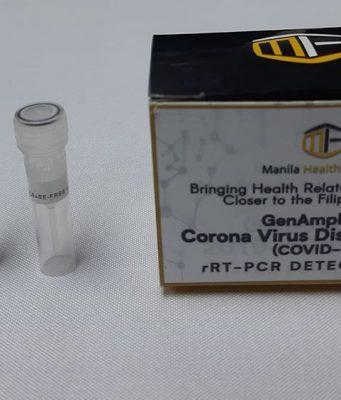 COVID-19 testing kit DOST