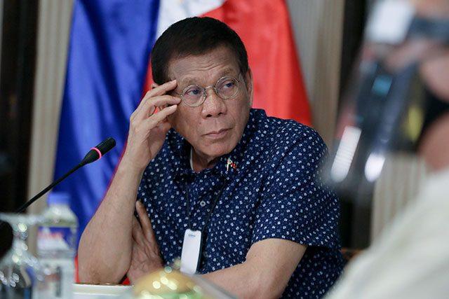 Duterte in IATF mtg