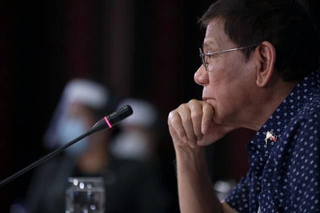 president rodrigo duterte on april 21
