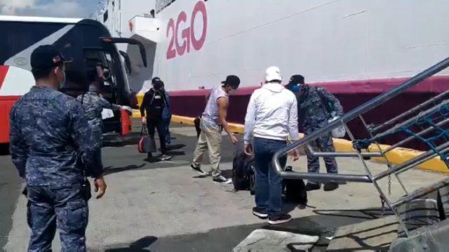 2GO Quarantine Ships