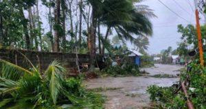 Typhoon Ambo in Eastern Samar