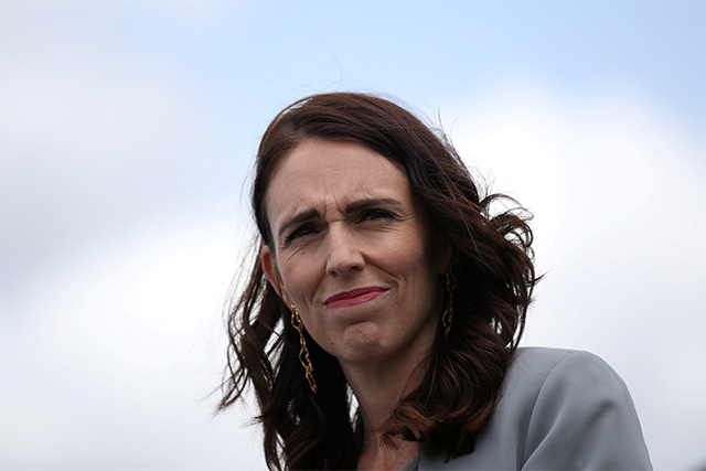 New Zealand Prime Minister Jacinda Ardern's live TV interview interrupted by quake