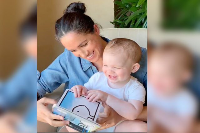 uk royal archie celebrates first birthday with story from mum meghan uk royal archie celebrates first
