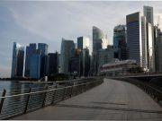 Marina Bay Singapore Merlion Park
