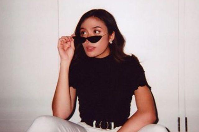 Kakie Pangilinan with shades