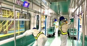 LRT1 disinfection