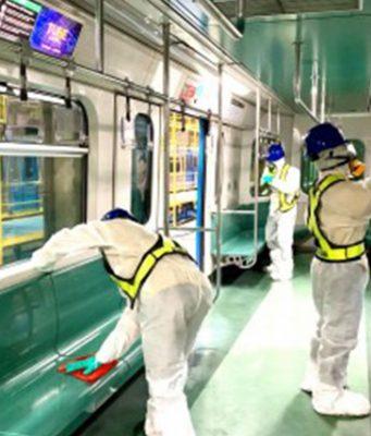 LRT1 disinfection
