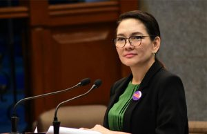 Risa Hontiveros in March 2020