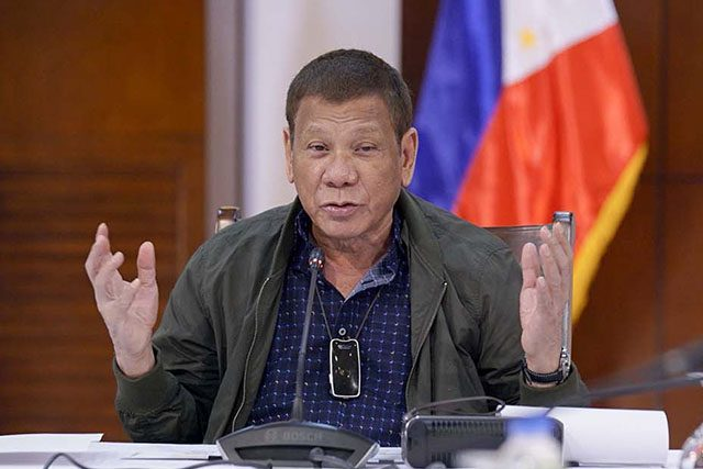 Duterte in July 8 Speech