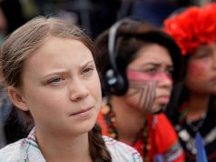 Greta Thunberg close up