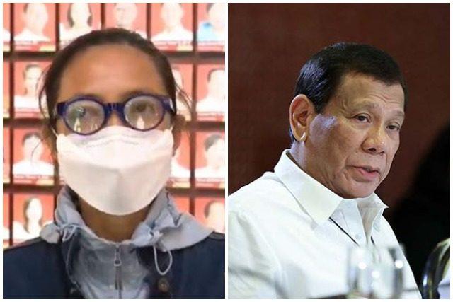 Joyce Bernal and Duterte