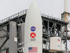 Rocket for Mars rover