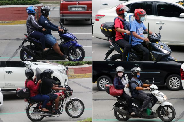 Risks posed by mandated motorcycle barrier for couples