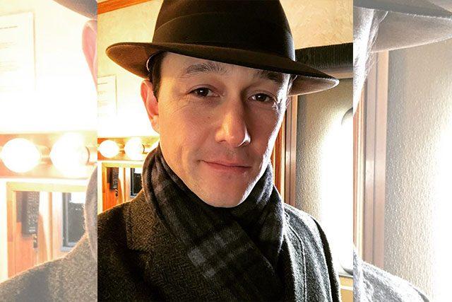Joseph Gordon Levitt with hat