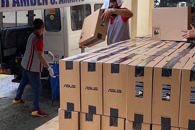 Laptop purchase by San Pablo