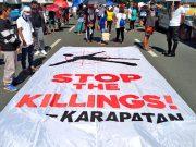 Stop the Killings tarpaulin