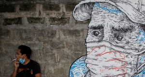 Quezon City mural street art COVID-19