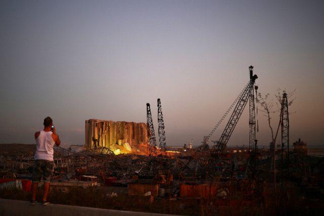 Beirut, Lebanon August 2020 blast