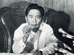 Ferdinand Marcos announcing Martial Law