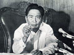 Ferdinand Marcos announcing Martial Law