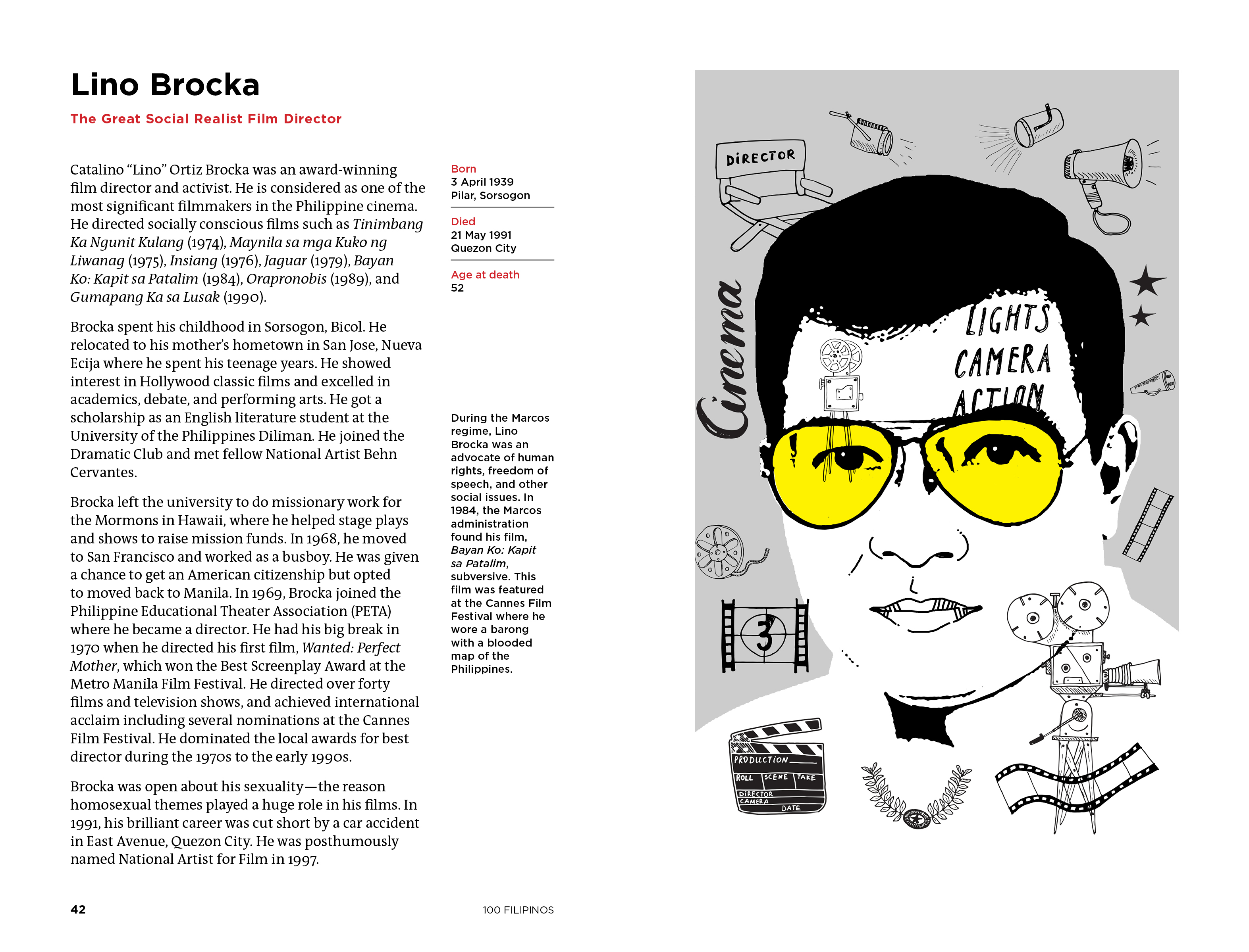 Lino Brocka illustration