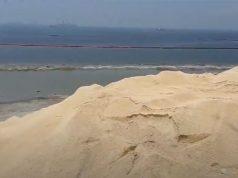 Manila Bay white sand