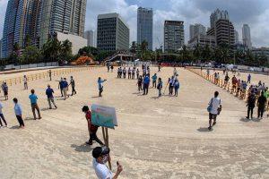 #ManilaBayChallenge: Throwback beach photos fill local social media amid crowding at Manila's 'white sand beach'