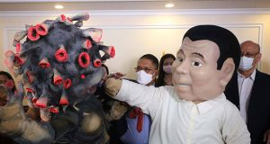Mascot of Duterte