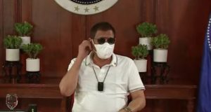 Duterte with sunglasses