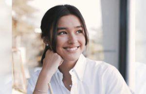 Liza Soberano in white blouse