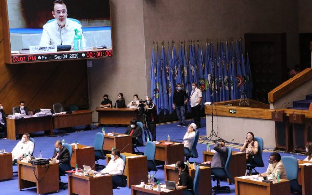 Alan Peter Cayetano as House speaker