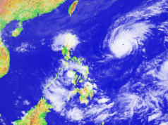 Tropical cyclones Rolly and Siony