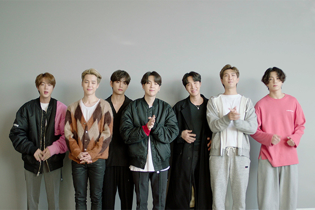 BTS Dedicates Their MTV Europe Music Awards Win to Army