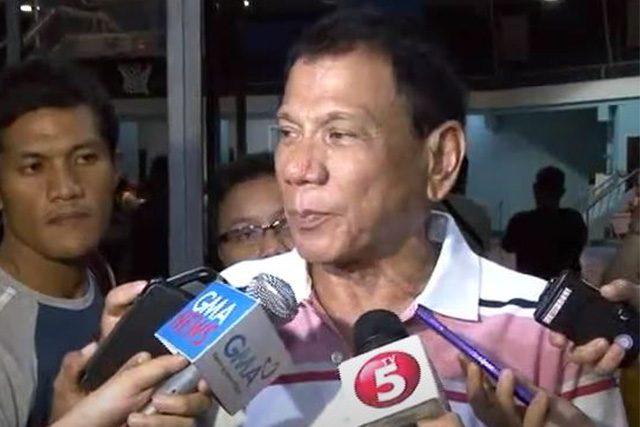 Duterte in 2013