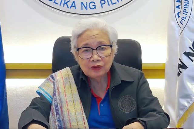 Leonor Briones in a DepEd
