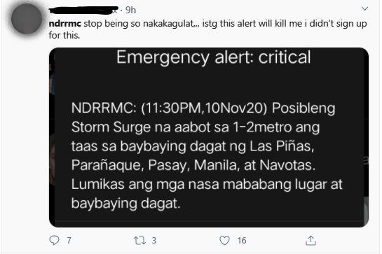 NDRRMC tweet