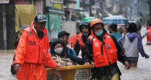 Typhoon Ulysses rescuers