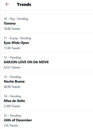 Misa de Gallo trending