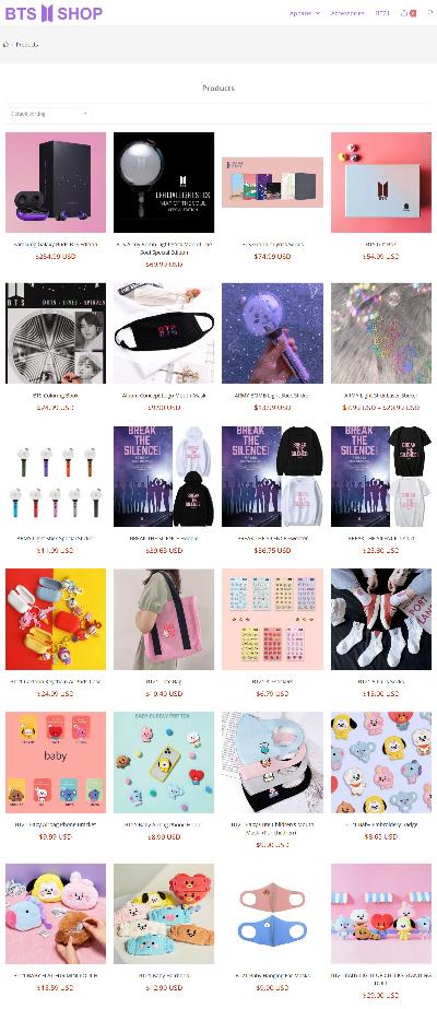 BTS Shop