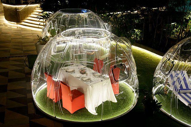 Bubble pod
