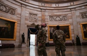 National Guards at US Capitol