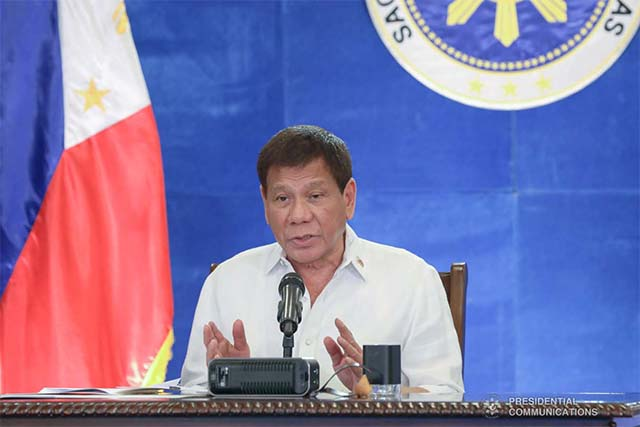 Duterte tells Filipinos to stab fraudsters who use his name in corruption