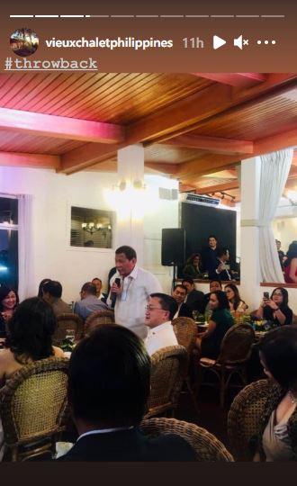 Duterte in Vieux Chalet