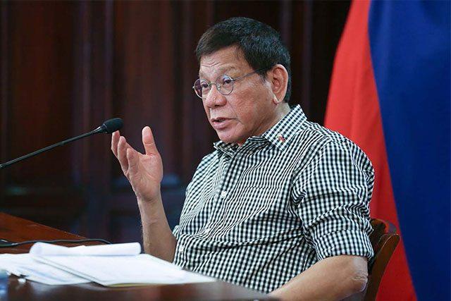 Duterte in Feb 24 Speech