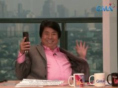 Willie Revillame in his show